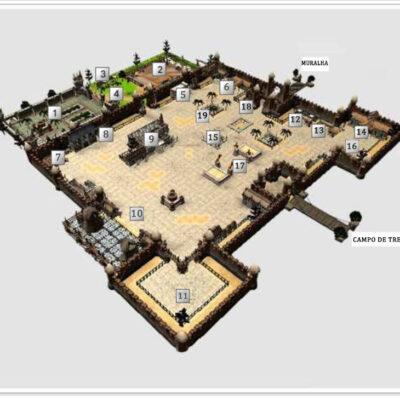 Mapa armia feito